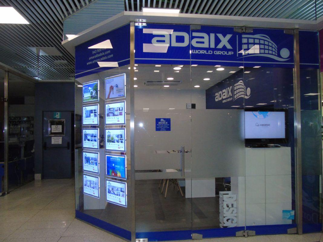 Agencia inmobiliaria Adaix en Donosti