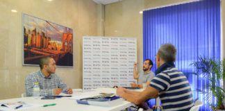 Jornadas de formación de nuestros agentes inmobiliarios en la central de Adaix