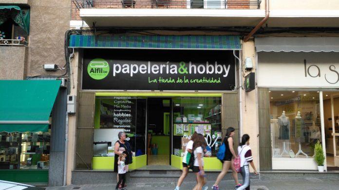 Nueva Papelería en Segovia de la franquicia Alfil.be