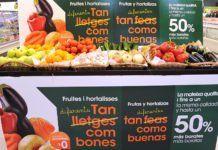 Caprabo promueve el consumo de frutas y verduras feas