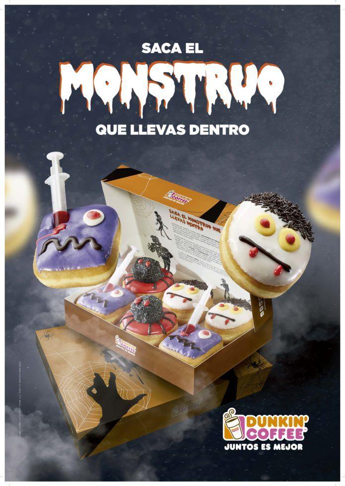 Dunkin' Coffee lanza una terrorifica campaña de Halloween