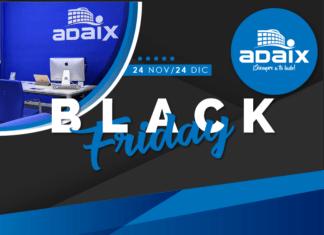 Adaix celebrará el próximo viernes 24 de noviembre el Black Friday