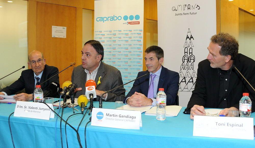 La iniciativa empresarial de AMPANS y Caprabo, un ejemplo de integración.