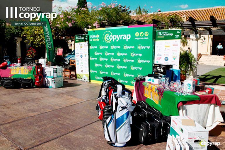 III Torneo de golf Copyrap