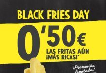 Pans & Company Celebra su Particular 'Black Fries Day'
