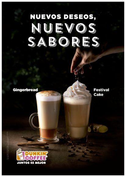 Papá Noel y los Reyes Magos llegan a Dunkin' Coffee