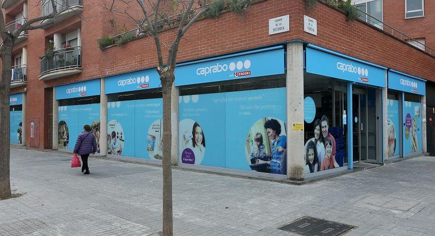Caprabo abre un supermercado en Barcelona Calle Espronceda 107
