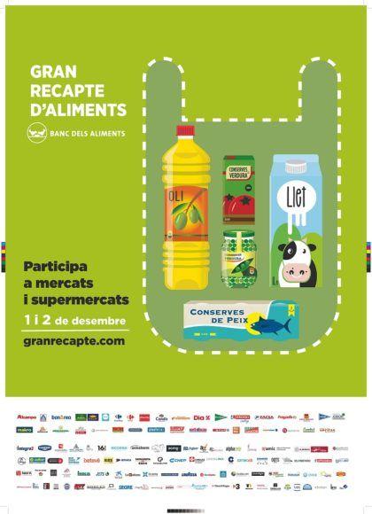 Caprabo, en todas las ediciones de la Gran Recogida de Alimentos