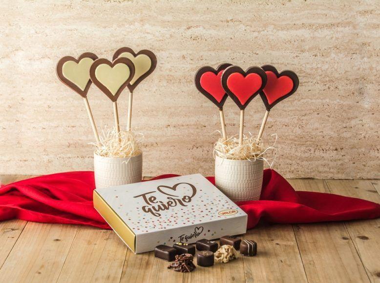 ¡Si me dices te quiero con chocolate, que sea Valor!