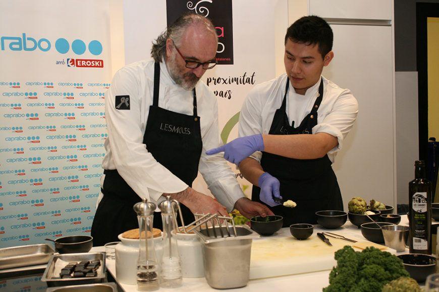 Caprabo y la FCAC celebran la I Jornada de Cocina de Proximidad