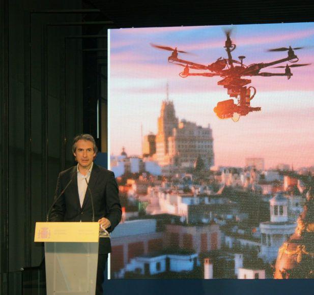 Droniberia apoya al gobierno en el Plan Estratégico de Drones 2018-2021