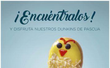 Dunkin' Coffee presenta su nueva colección especial de Pascua