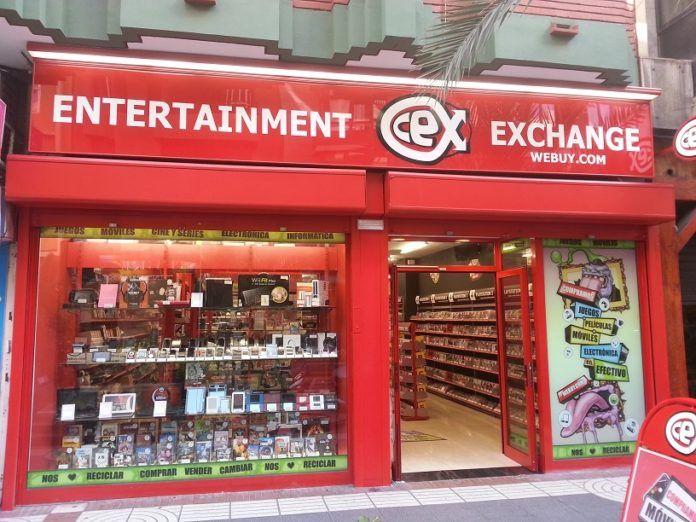 CeX se posiciona con una red superior a las 575 tiendas en el mercado internacional