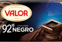 Chocolates Valor Líder en el mercado en chocolate negro