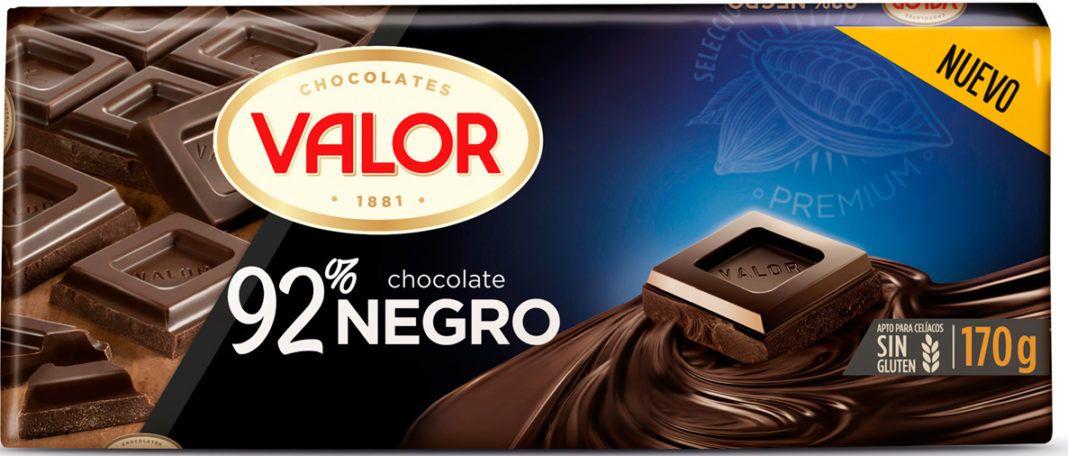 Chocolates Valor Líder en el mercado en chocolate negro