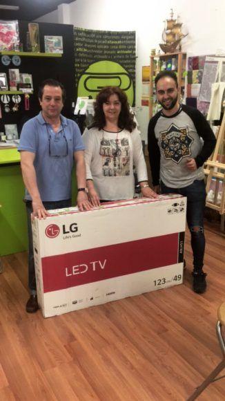 Premio Megatelevisor LED de última generación franquiciado de Logroño
