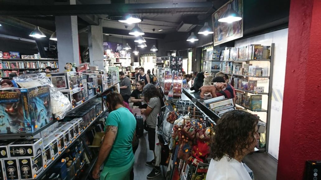 Comic Stores reabre con gran éxito de público su tienda en Paseo de los Tilos