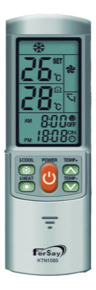 Fersay lanza un nuevo mando universal para el aire acondicionado