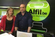 Nueva papelería en Avila capital de la franquicia Alfil
