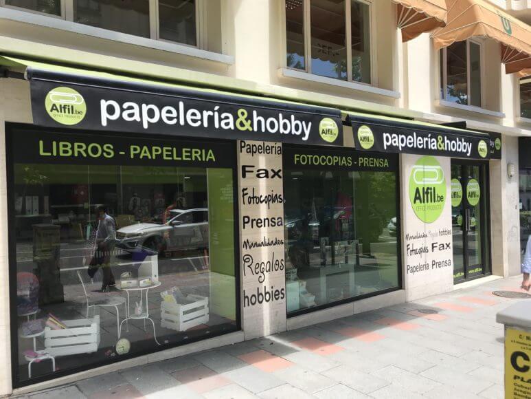 Nueva papelería en General Martinez Campos Madrid