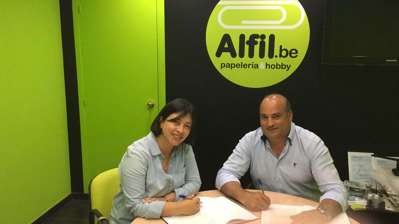 Nueva papelería en Martorell (Barcelona) de Alfil Be