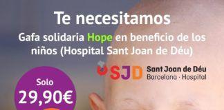Campaña solidaria de Alfil Be junto con el hospital de Sant Joan de Déu.
