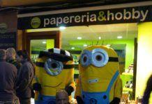 Inauguración de nueva papelería en Bagà Barcelona