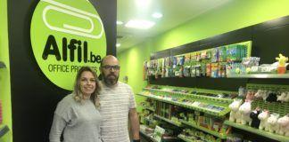 Nueva papelería en Blanes (Girona) de la franquicia Alfil Be
