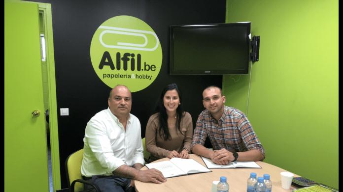 Nueva papelería en Barcelona de la franquicia Alfil Be