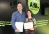 Fin de formación de la franquicia de papelería Alfil Be Castellón