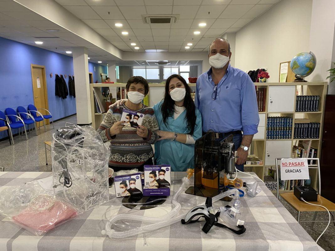 Donación de mascarillas de protección MASKPLUS