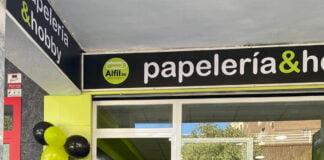 Inauguración Papelería Aluche Madrid