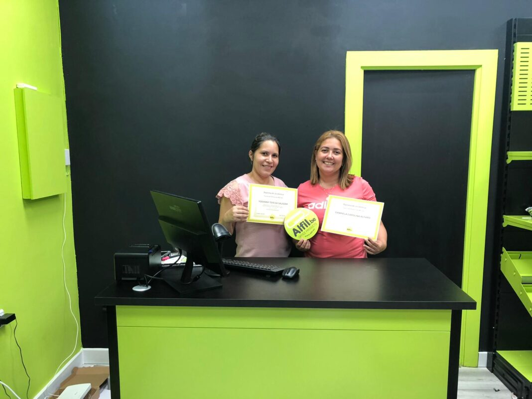 Fin formación franquicia papelería Cartagena