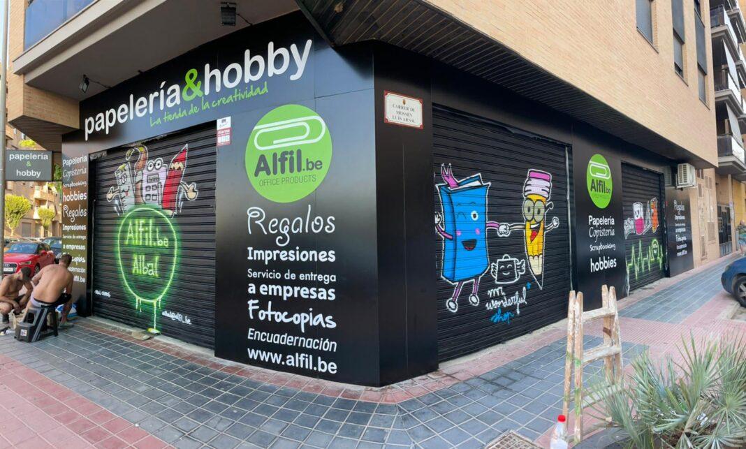Inauguración Papelería Albal Valencia Franquicia Alfil Be